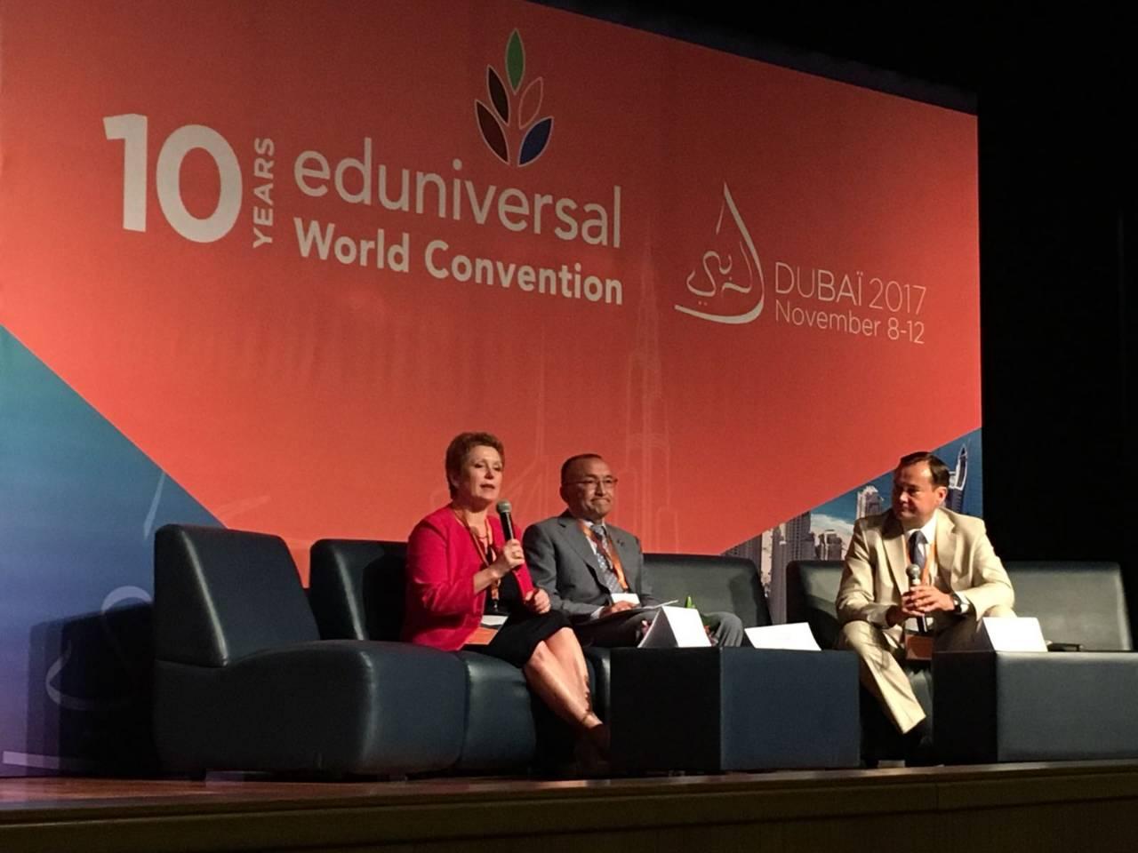 Adizes Instituto Vadovas Pasaulinėje Eduniversal Konvencijoje