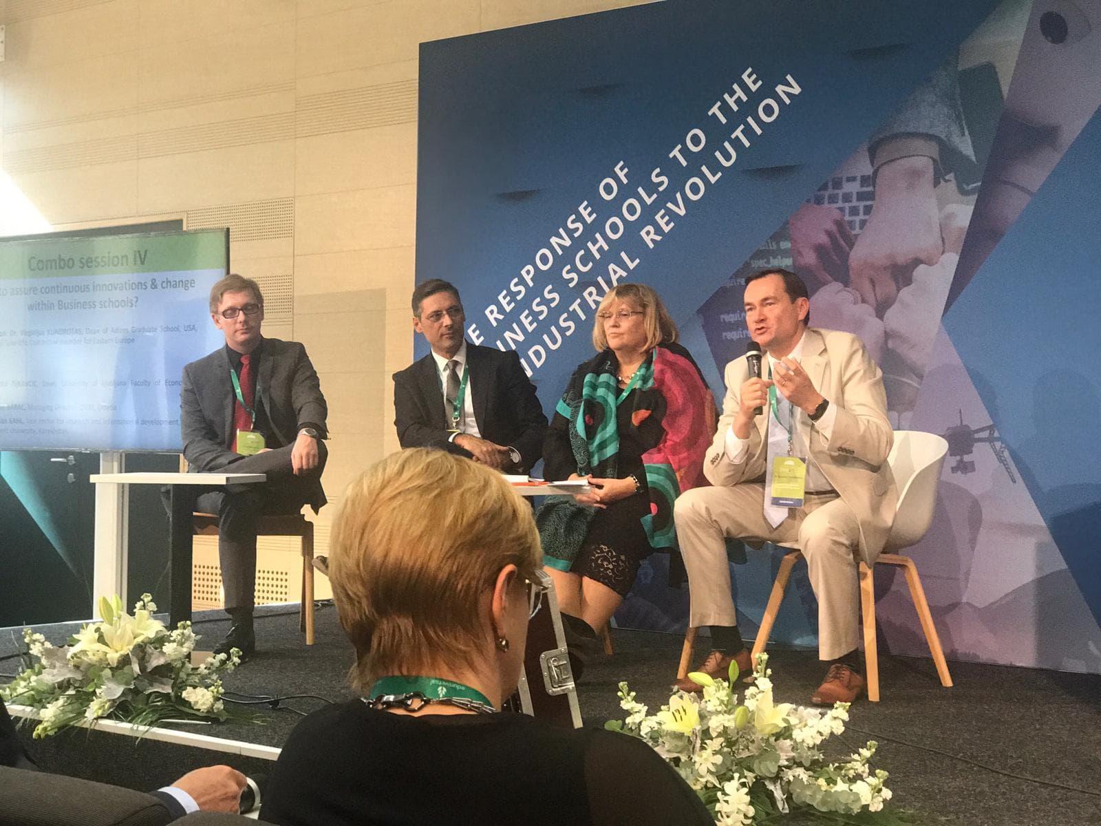 Adizes Instituto Lietuvai Vadovas Pasaulinėje Konferencijoje Dubrovnike